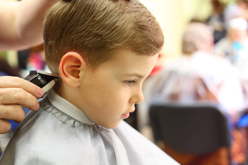 children's hair cut