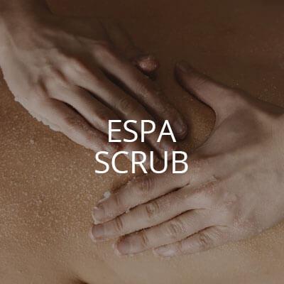 espa oil and salt scrub